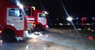 تحطم طائرة ركاب لشركة فلاي دبي جنوبي روسيا