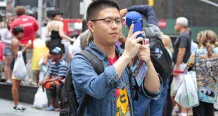 سائح صيني لاجئ