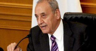 نبیه بری، رییس پارلمان لبنان،
