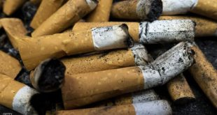 Smoked cigarettes are seen in an ashtray on April 18, 2016 in Centreville, Virginia.  / AFP / PAUL J. RICHARDS        (Photo credit should read PAUL J. RICHARDS/AFP/Getty Images)