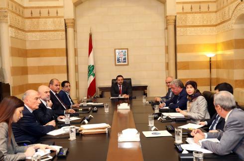 Pr-Minister-Saad-Hariri-meets-Heading-a-Ministerial-Council