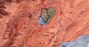 خريطة التقدم عرسال