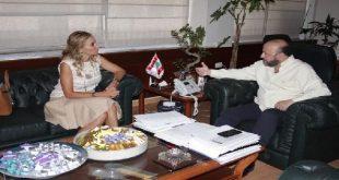 رياشي وسفيرة سويسرا
