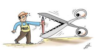 كاريكاتور الصحافة