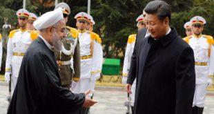 الرئيس الصيني وروحاني