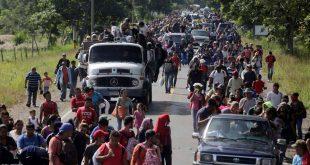 مهاجرون نحو اميركا