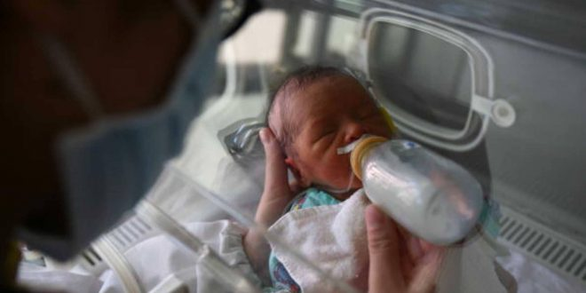 طفل معدل جينيا