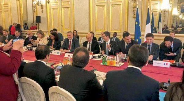 اجتماع باريس المالي 11-12-2019