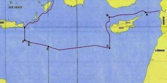 الحدود البحرية التركية