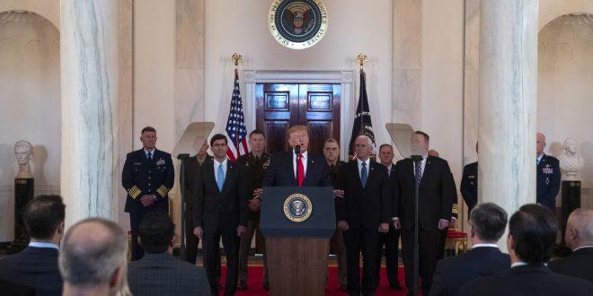ترامب ومسؤولي الأمن القومي