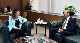 عبد الصمد استقبلت سفير تركيا