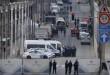 Belgian police and emergency personnel secure the Rue de la Loi following an explosion in Maalbeek metro station in Brussels  Belgium  March 22  2016    REUTERS Vincent Kessler