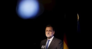 Spanish acting Prime Minister Mariano Rajoy pauses as he speaks during a seminar as part of the 80th birthday celebrations of Peruvian writer and recipient of the 2010 Nobel Prize in Literature Mario Vargas Llosa in Madrid  Spain  March 29  2016  REUTERS Susana Vera