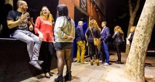 Sabadell  28 05 2016 Zona de bars i discoteques  Zona Hermetica  Ambient al bar discoteca Feeling al carrer Rocafort   Foto  Robert Ramos