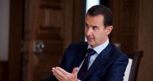 الأسد يعلق على الحادث الأخير بين سوريا وإسرائيل