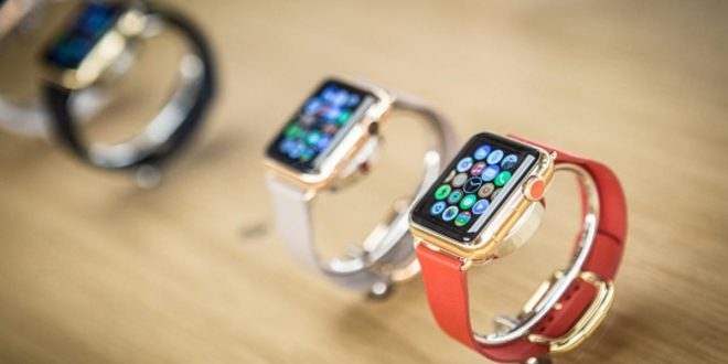 MADRID, SPAIN - JUNE 26:  Apple Watch is now available in seven more countries (Italy, Mexico, Singapore, South Korea, Spain, Switzerland and Taiwan.) on June 26, 2015 in Madrid, Spain.  (Photo by Pablo Cuadra/Getty Images for Apple)