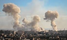 bombardements Syrie