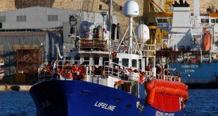 The charity ship Lifeline is seen at Boiler Wharf in Senglea, in Valletta's Marsamxett Harbour, Malta June 27, 2018.  REUTERS/Darrin Zammit Lupi