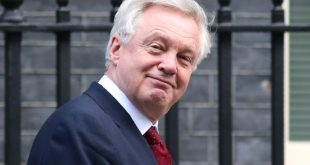 "British Secretary of State for Exiting the European Union (Brexit Minister) David Davis leaves after attending the weekly meeting of the Cabinet at 10 Downing Street on January 17, 2017.  British Prime Minister Theresa May on January 17, chaired the weekly meeting of the Cabinet ahead of a major speech in which she is expected to say she favours a clean break from the European Union, dismissing a ""half-in, half-out"" Brexit deal with Brussels. / AFP / Daniel LEAL-OLIVAS        (Photo credit should read DANIEL LEAL-OLIVAS/AFP/Getty Images)"