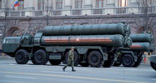 FILE-PHOTO-A-Russian-serviceman-walks-past-S-400-missile-air-defence-systems-before-a-rehearsal-for-a-military-parade-in-Mosc