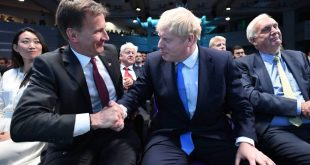 jeremy hunt y boris johnson