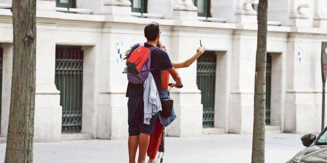trottinette a   a Paris le 05/08/2019 Photo sebastien soriano/ Le Figaro