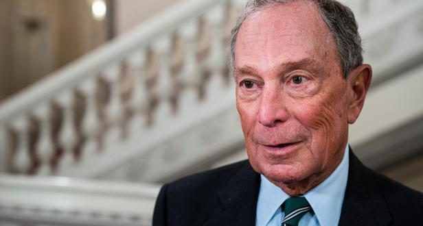 former New York City Mayor Michael R. Bloomberg arrives at Gala Dinner on the occasion of the World Mayors Summit in Christiansborg in Copenhagen, Denmark October 10, 2019.  Ritzau Scanpix/Martin Sylvest via REUTERS    ATTENTION EDITORS - THIS IMAGE WAS PROVIDED BY A THIRD PARTY. DENMARK OUT. NO COMMERCIAL OR EDITORIAL SALES IN DENMARK. - RC159259D340