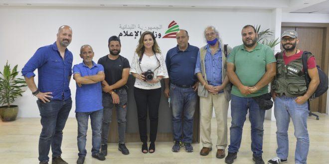 عبد الصمد وفد نقابة المصورين