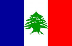 علم دولة لبنان الكبير 1920-1943