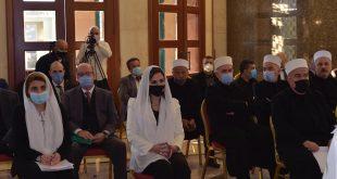 عبد تشارك في جلسة المجلس المذهبي