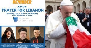 Le Pape et Liban