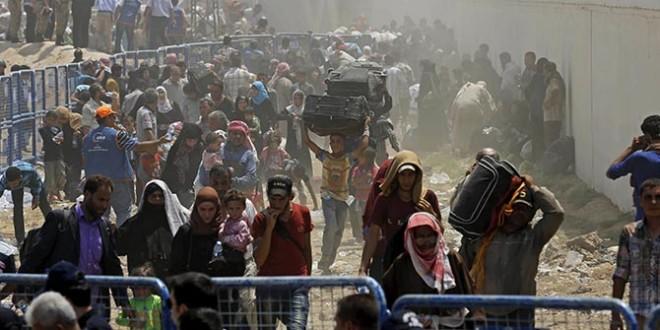 النزوح السوري
