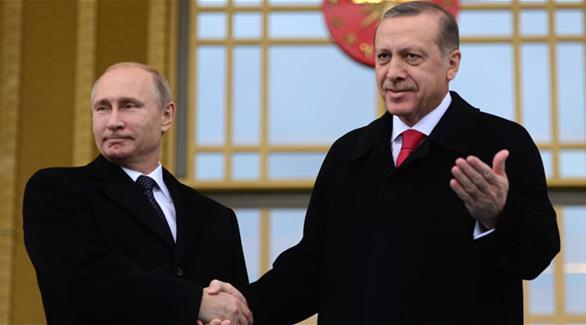 اردوغان في روسيا