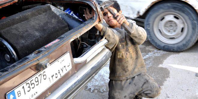 عمل اطفال لبنان
