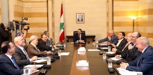 Pr-Minister-Saad-Hariri-Heading-a-Ministerial-Council-11