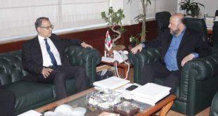 الرياشي والسفير المصري