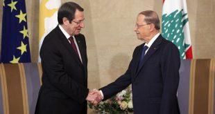عون ورئيس قبرص