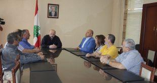 الرياشي ونقابة تلفزيون لبنان
