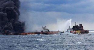 غرق السفينة الايرانية