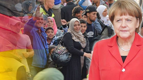 Risultati immagini per اللاجئين السوريين فى المانيا