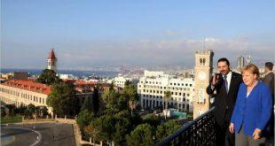 ميركل في لبنان