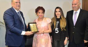 الجراح تكريم امال عفيش