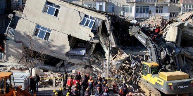 تركيا زلزال