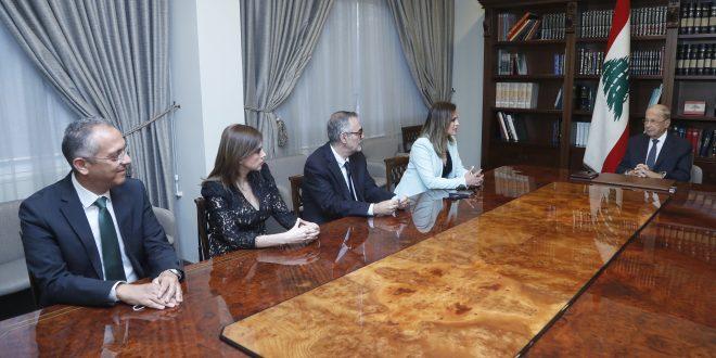 عون عبد الصمد تلفزيون لبنان