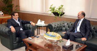 قرداحي مع سفير تونس