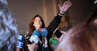 BARCELONA 10/01/2017  Política.  Soraya saenz de santamaria se reune con Junqueras         FOTO de ELISENDA PONS