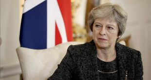 FILE - In this July 24  2018 file photo  British Prime Minister Theresa May listens at the start of her meeting with the Qatar s emir at 10 Downing Street in London  May has told the BBC in an interview scheduled for broadcast Monday  Sept  17  2018  that she gets a  irritateda   by the debate over her leadership during Brexit negotiations   Matt Dunham  Pool Photo via AP  File