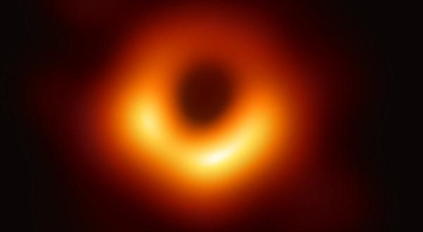 The first-ever image of a black hole was released Wednesday by a consortium of researchers, showingthe black hole at the center of galaxy M87, outlined by emission from hot gas swirling around it under the influence of strong gravity near its event horizon