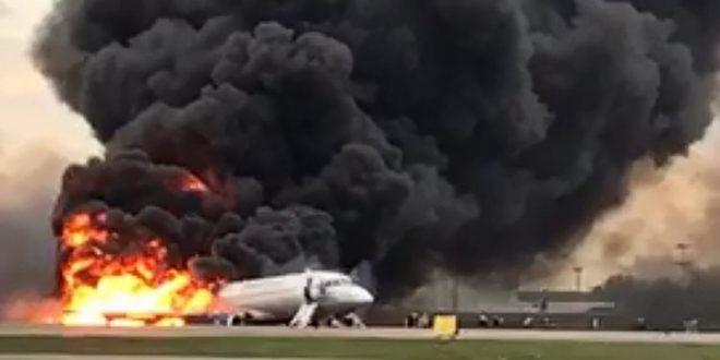 avion-en-llamas-rusia
