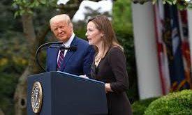 Trump et Amy Coney 1